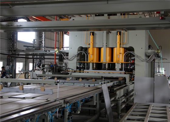 Automatic Melamine Paper Laminating Machine / Laying Machine High Efficiency