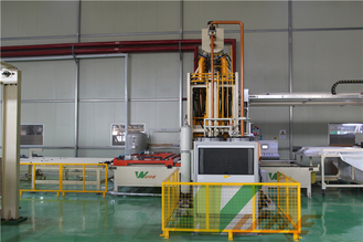 China Single Layer Short Cycle Lamination Line Hot Press For Floor Production CE Approved supplier