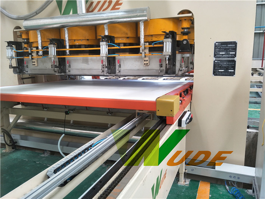 China Auto Short Cycle Lamination Line Melamine Hot Press Machine High Production Capacity supplier