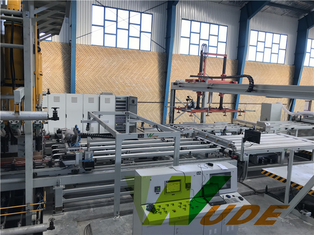 China High Pressure Double Sided Synchronous Laminating Line Servo Motor Driving supplier