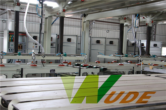 China 7×10 Automatic Short Cycle Laminating Machine For Melamine Paper CE Standard supplier