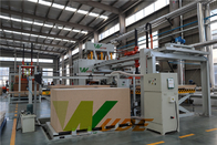 China Melamine Laminating Line Hot Press Machine With Automatic Loading And Loading factory