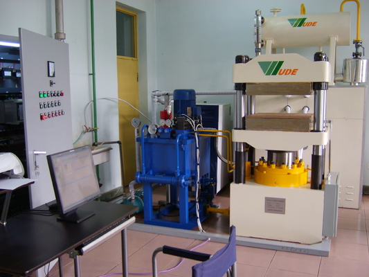 Impregnating Paper Laboratory Press Machine , Laboratory Hydraulic Press For Research