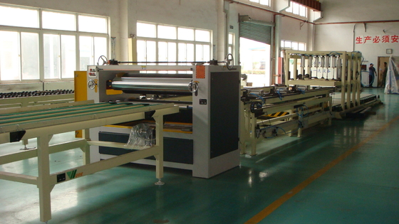 Automated Operation Honeycomb Panel Production Line High Production Capacity