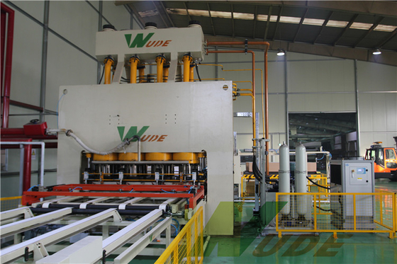 Single Layer Short Cycle Lamination Line For Melamine Paper Board / MDF Board