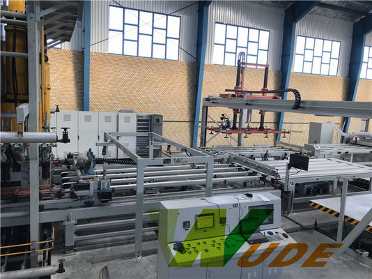 China High Pressure Double Sided Synchronous Laminating Line Servo Motor Driving factory