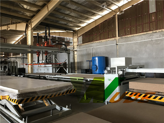 Short Cycle Double Sided Synchronous Laminating Line 6×12 High Efficiency