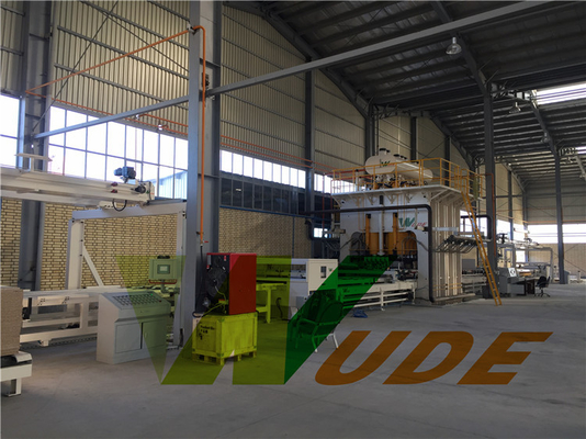 Melamine Laminated Particle Board Lamination Machine High Efficiency Automatic