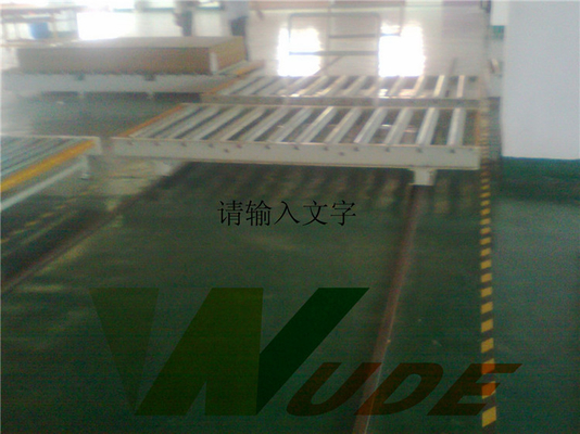 High Efficient Multilayer Lamination Machine Hot Press Applying Laminate On Plywood