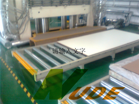 Low Pressure Multilayer Lamination Machine / Hot Press Machine For Plywood