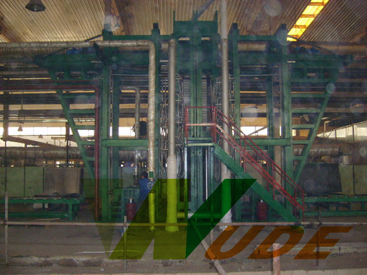Automatic High Pressure Laminate Machine Multilayer Hot Press for Bamboo Plywood