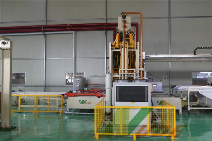 Single Layer Short Cycle Lamination Line Hot Press For Floor Production CE Approved