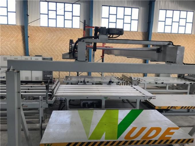 High Pressure Double Sided Synchronous Laminating Line Servo Motor Driving